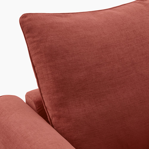 GRÖNLID - corner sofa, 5-seat, with chaise longue/Ljungen light red | IKEA Hong Kong and Macau - PE780071_S4