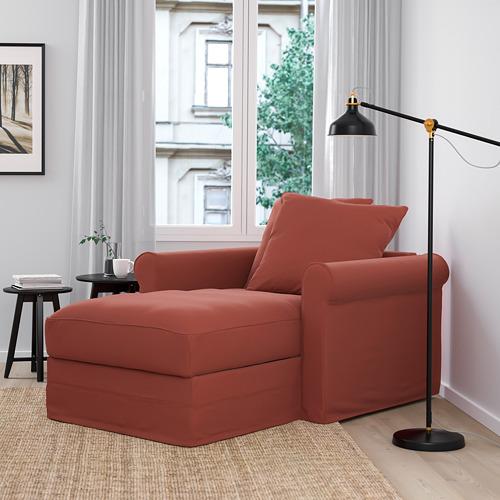 GRÖNLID - chaise longue, Ljungen light red | IKEA Hong Kong and Macau - PE780111_S4