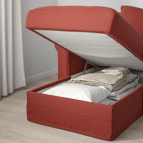 GRÖNLID - chaise longue, Ljungen light red | IKEA Hong Kong and Macau - PE780115_S4