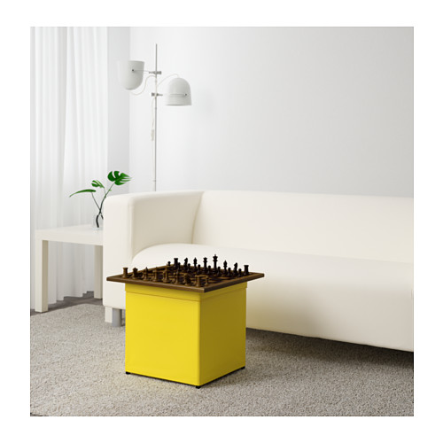 BOSNÄS footstool with storage
