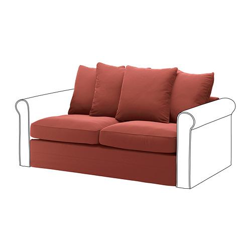 GRÖNLID 2-seat sofa-bed section