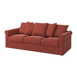 GRÖNLID - 3-seat sofa, Ljungen light red | IKEA Hong Kong and Macau - PE780165_S3