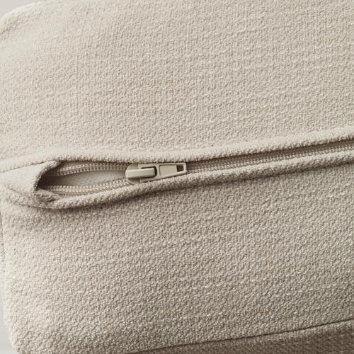 LIDHULT - corner sofa, 6-seat, with chaise longue/Gassebol light beige | IKEA Hong Kong and Macau - PE688568_S4