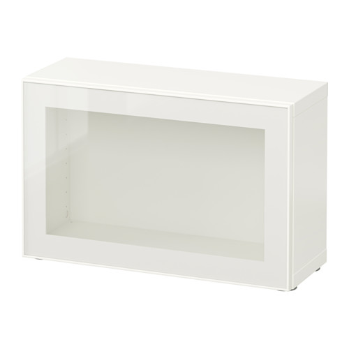 BESTÅ shelf unit with glass door