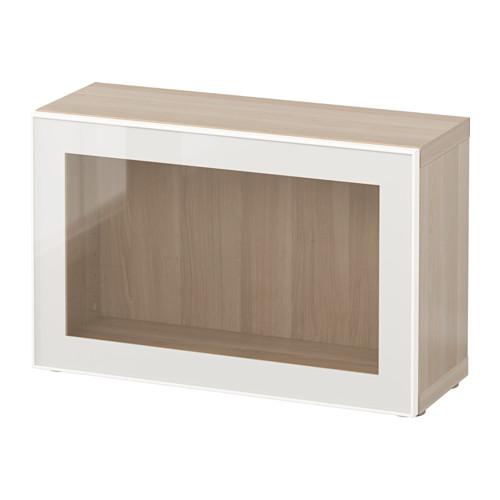 BESTÅ shelf unit with glass door