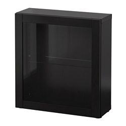 BESTÅ - 層架組合連玻璃門, Sindvik 棕黑色 | IKEA 香港及澳門 - PE537300_S3