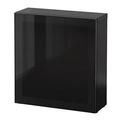 BESTÅ - 層架組合連玻璃門, 棕黑色/Glassvik 黑色/茶色玻璃 | IKEA 香港及澳門 - PE537302_S3
