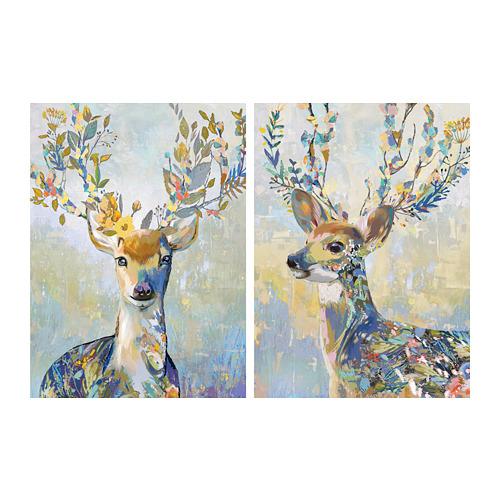 PJÄTTERYD - 畫, 斑駁小鹿 | IKEA 香港及澳門 - PE707640_S4