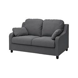VINLIDEN - 2-seat sofa, Hakebo dark grey | IKEA Hong Kong and Macau - PE780209_S3
