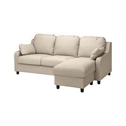 VINLIDEN - 3-seat sofa with chaise longue, Hakebo beige | IKEA Hong Kong and Macau - PE780242_S3