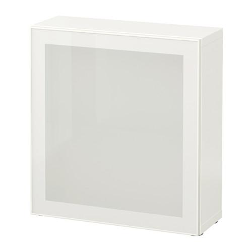 BESTÅ - 層架組合連玻璃門, 白色/Glassvik 白色/磨砂玻璃 | IKEA 香港及澳門 - PE537311_S4