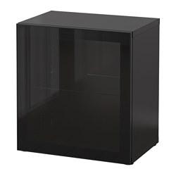 BESTÅ - shelf unit with glass door, black-brown/Glassvik black/clear glass | IKEA Hong Kong and Macau - PE537317_S3