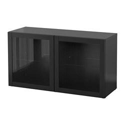 BESTÅ - 層架組合連玻璃門, Sindvik 棕黑色 | IKEA 香港及澳門 - PE537284_S3
