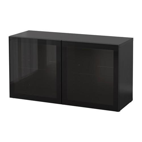 BESTÅ 層架組合連玻璃門