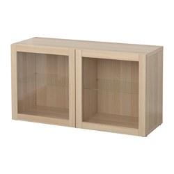 BESTÅ - 層架組合連玻璃門, Sindvik 染白橡木紋 | IKEA 香港及澳門 - PE537296_S3