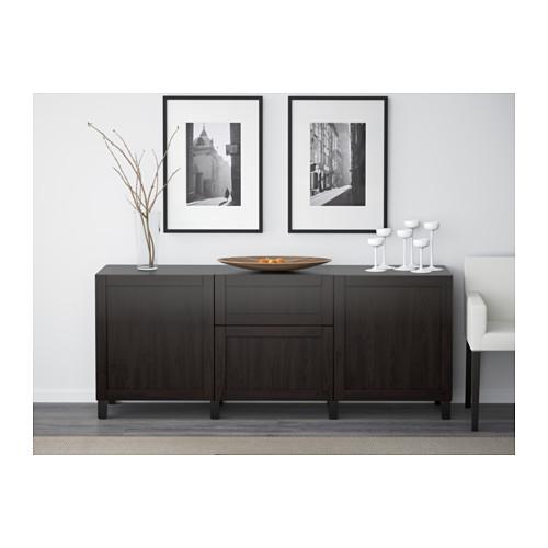 BESTÅ - storage combination with drawers, Hanviken/Stubbarp black-brown | IKEA Hong Kong and Macau - PE537232_S4