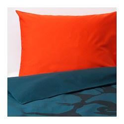 URSKOG - 被套枕袋套裝, 獅子/深藍色 | IKEA 香港及澳門 - PE659106_S3
