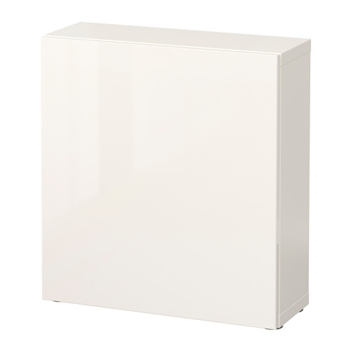 BESTÅ - shelf unit with door, white/Selsviken high-gloss/white | IKEA Hong Kong and Macau - PE537169_S4