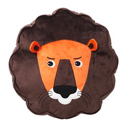 DJUNGELSKOG - cushion, lion/brown | IKEA Hong Kong and Macau - PE659173_S3