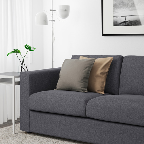 VIMLE - 3-seat sofa, Gunnared medium grey | IKEA Hong Kong and Macau - PE641650_S4