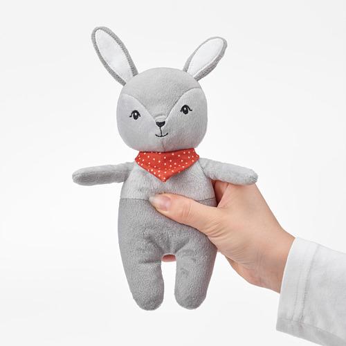 GULLIGAST - squeaky soft toy, grey/red | IKEA Hong Kong and Macau - PE802280_S4