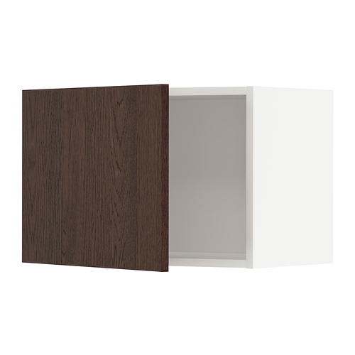 METOD - 吊櫃, 白色/Sinarp 褐色 | IKEA 香港及澳門 - PE802305_S4