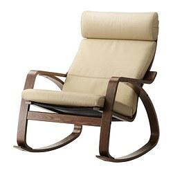 POÄNG - 搖椅, 褐色/Glose 奶白色 | IKEA 香港及澳門 - PE311394_S3
