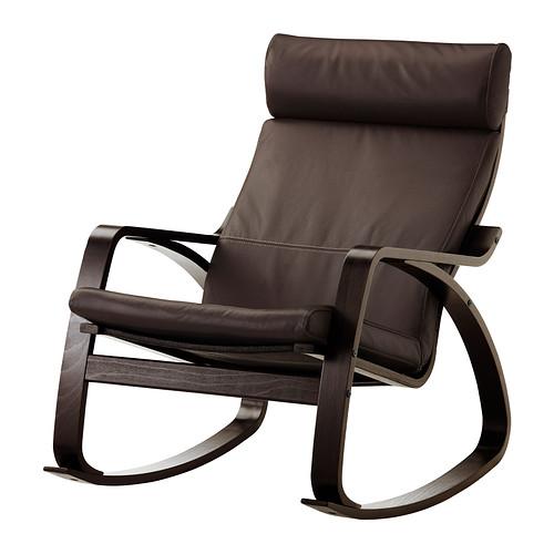 POÄNG - rocking-chair, black-brown/Glose dark brown | IKEA Hong Kong and Macau - PE311399_S4