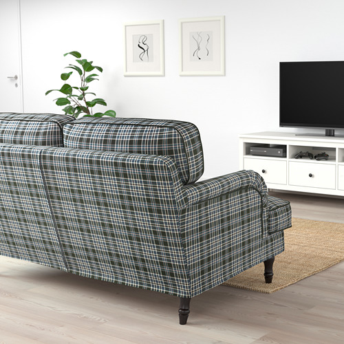 STOCKSUND - 2-seat sofa, Segersta multicolour/black/wood | IKEA Hong Kong and Macau - PE688225_S4