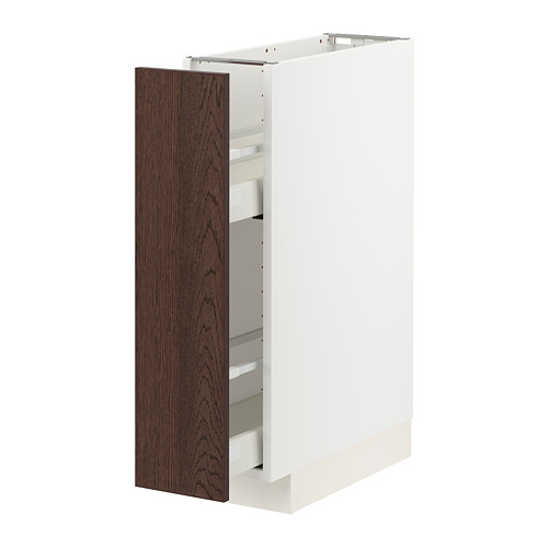 METOD/MAXIMERA base cabinet/pull-out int fittings