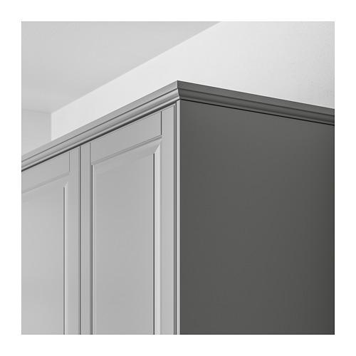 BODBYN - 櫃頂修飾條/牆線, 灰色   IKEA 香港及澳門 - PE659390_S4