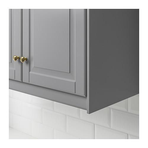 BODBYN - 櫃頂修飾條/牆線, 灰色   IKEA 香港及澳門 - PE659427_S4
