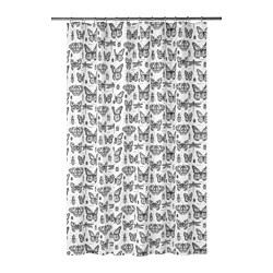 SOMMARMALVA - shower curtain, white/dark grey | IKEA Hong Kong and Macau - PE747588_S3