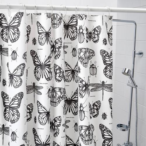 SOMMARMALVA 浴簾