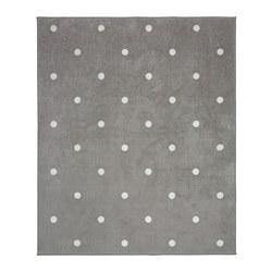 LEN - 地墊, 點狀/灰色 | IKEA 香港及澳門 - PE747623_S3