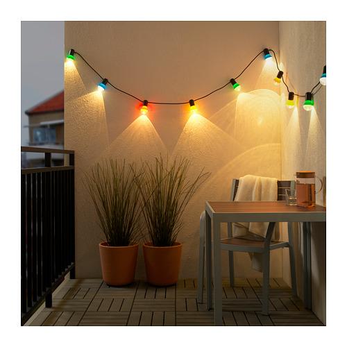 SOLVINDEN 12頭LED裝飾燈串
