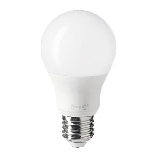 TRÅDFRI - LED bulb E27 806 lumen, wireless dimmable warm white/globe opal white | IKEA Hong Kong and Macau - PE747640_S4