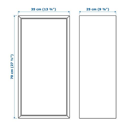 EKET cabinet w door and 2 shelves