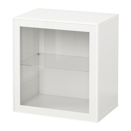 BESTÅ - 上牆式貯物組合, white/Glassvik white   IKEA 香港及澳門 - PE847263_S4