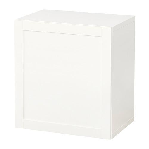 BESTÅ - 上牆式貯物組合, white/Hanviken white | IKEA 香港及澳門 - PE847268_S4