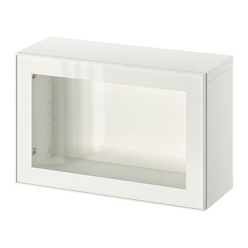 BESTÅ - 上牆式貯物組合, white/Glassvik white/clear glass | IKEA 香港及澳門 - PE847260_S4