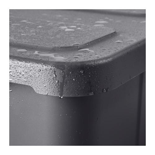 KLÄMTARE - 室內/戶外連蓋箱, 深灰色 | IKEA 香港及澳門 - PE602505_S4