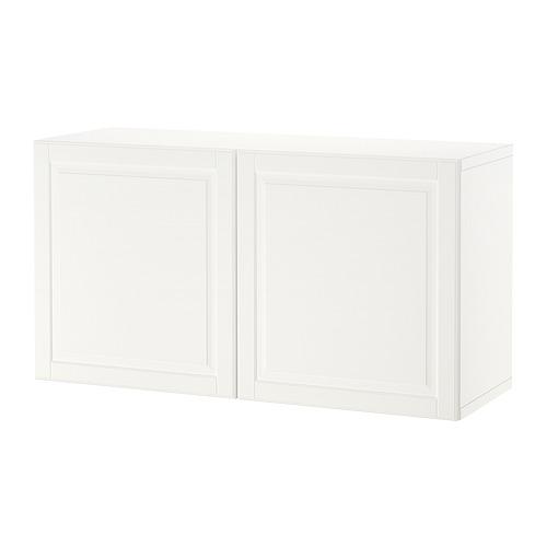 BESTÅ - 上牆式貯物組合, white/Ostvik clear glass | IKEA 香港及澳門 - PE847352_S4