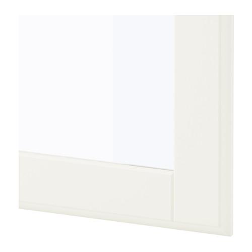 TYSSEDAL - door, white/glass | IKEA Hong Kong and Macau - PE602570_S4