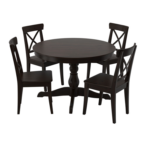 INGATORP table and 4 chairs