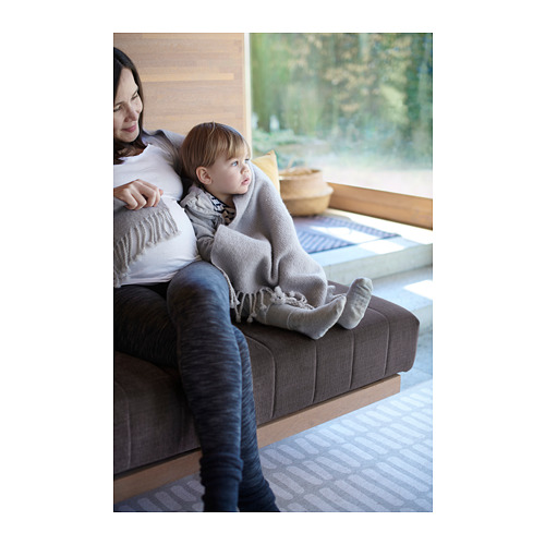 OMTÄNKSAM - 輕便暖氈, 淺灰色 | IKEA 香港及澳門 - PH152566_S4