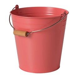SOCKER - bucket/plant pot, in/outdoor orange-pink | IKEA Hong Kong and Macau - PE804235_S3