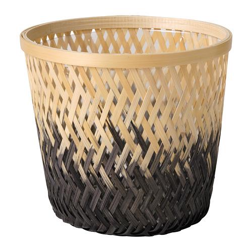 VATTENMELON - plant pot, bamboo natural/black | IKEA Hong Kong and Macau - PE804194_S4