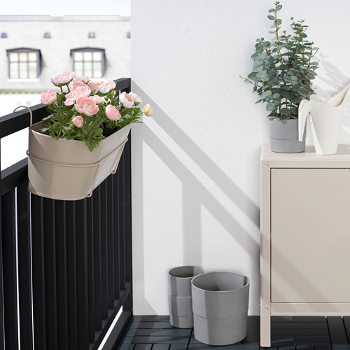 VITLÖK - 花盆連支架, 室內/戶外用 米黃色 | IKEA 香港及澳門 - PE804201_S4