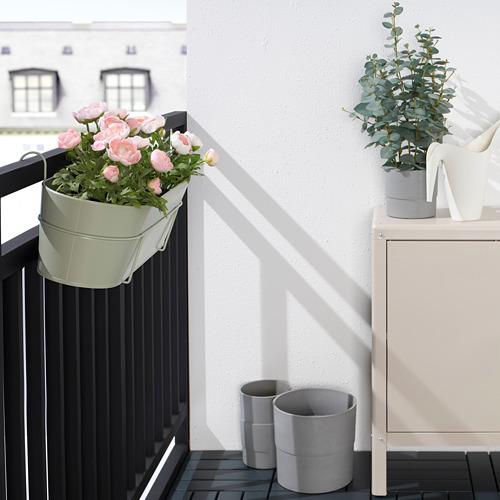 VITLÖK - 花盆連支架, 室內/戶外用 淺綠色   IKEA 香港及澳門 - PE804207_S4